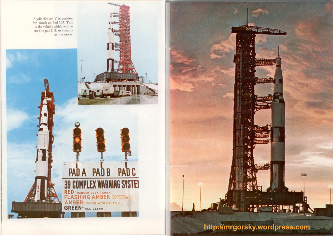 16 y 17 JFK Space Center Souvenir Book