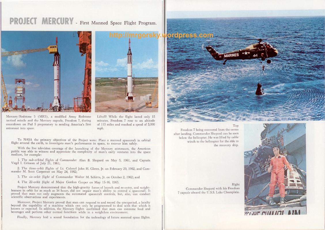 20 y 21 JFK Space Center Souvenir Book