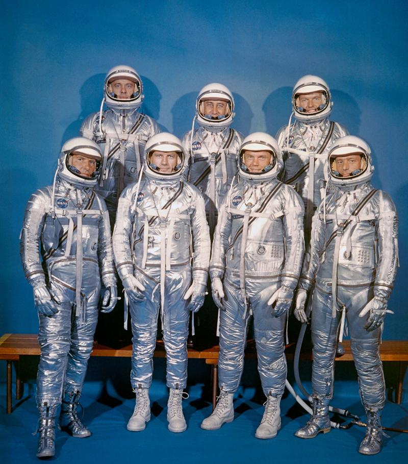 Los siete del Mercury.