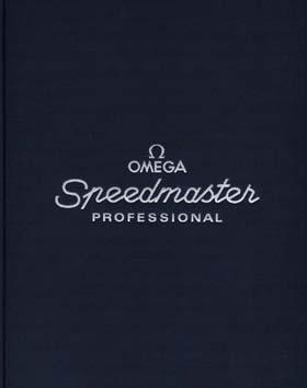 Portada del libro oficial de Omega sobre el Speedmaster Professional