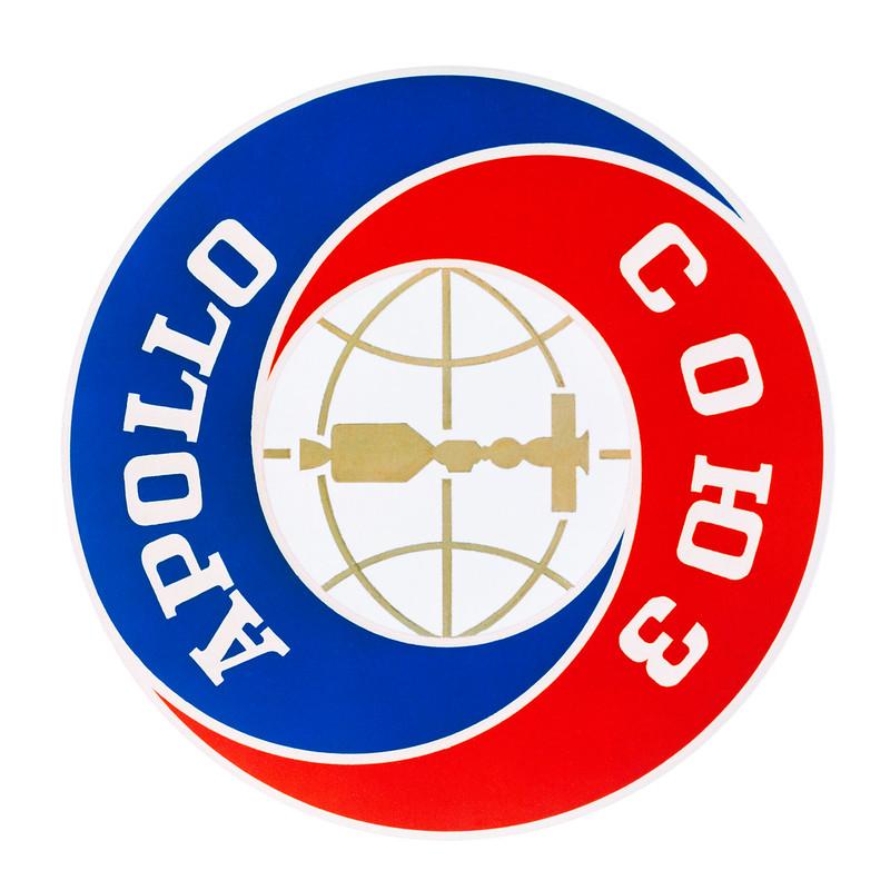 Emblema de la misión conjunta Apolo-Soyuz (1975)