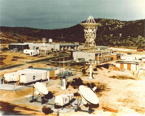 Estación de INTA/NASA en Fresnedillas de la Oliva (Madrid).